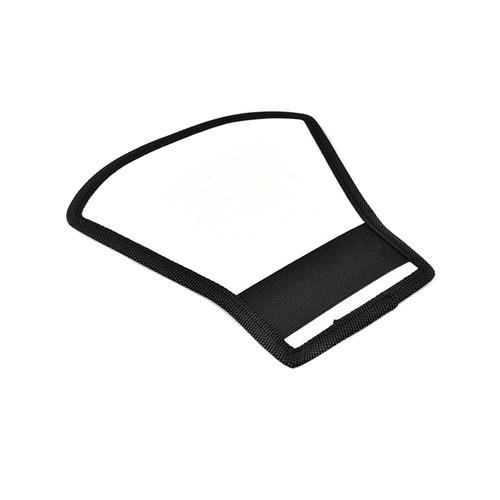 rebotador para flash plateado/blanco + envio
