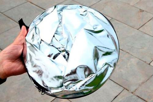 rebotador reflector 5 en 1 de luz de 60cm para canon nikon