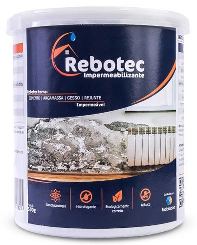 rebotec ® 2kg impermeabilizante p/ laje reboco piso ceramica