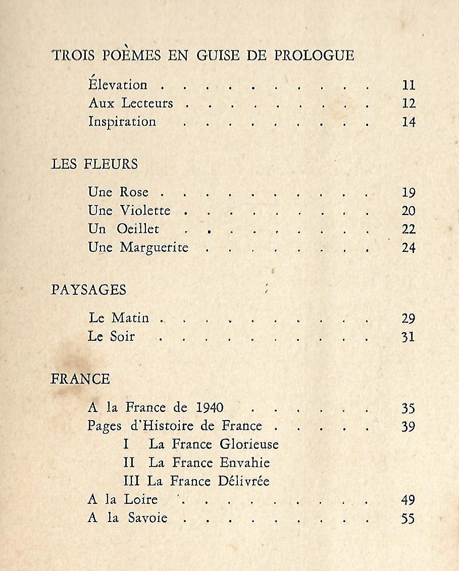 Reboursin Oliver Echos Du Soir Poemes Bs As 1946 Poemes 106800