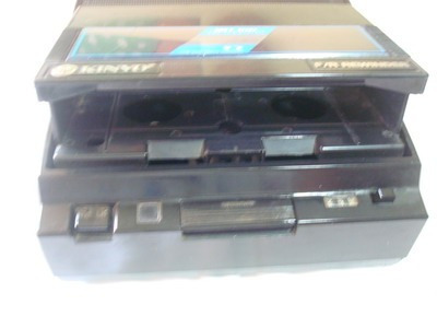 rebovinador de cintas de vhs kinyo