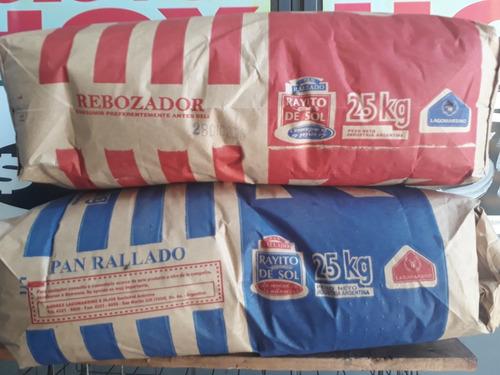 rebozador y pan rayado x kilo