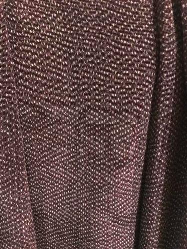 rebozo de ceda de bolita uva con negro