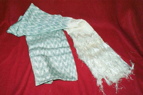 rebozo de seda original de santa ma del rio, san luis potosí