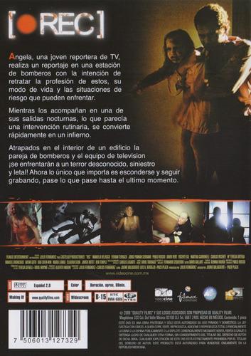 rec 2007 manuela velasco , ferrán terraza pelicula dvd