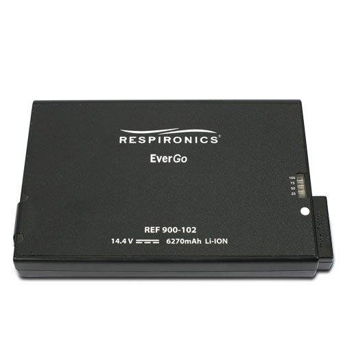 recalibrador bateria respironic concentrador simplygo evergo
