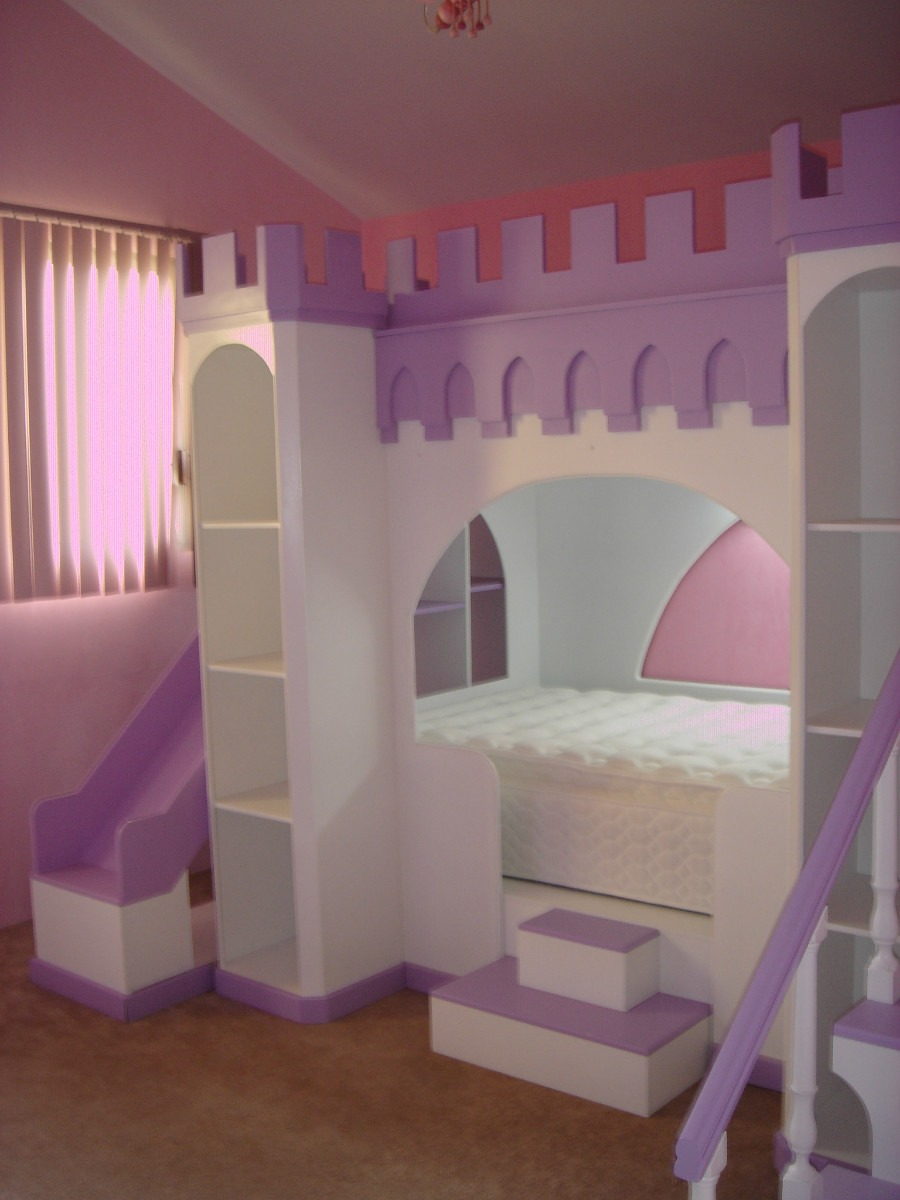 Recamara castillo 28 en mercado libre - Habitaciones para dos ninas ...