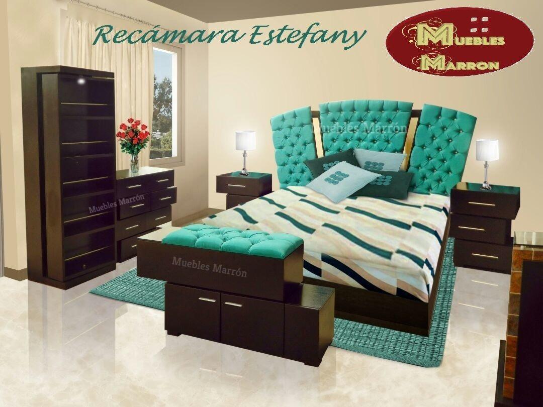 Rec Mara Estefany Color Chocolate Mdf Nueva Muebles Marr N  # Muebles Marrones