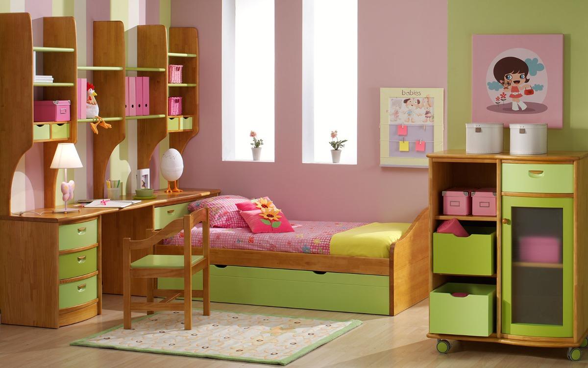 Recamara infantil de madera 24 en mercado libre for Recamaras individuales de madera