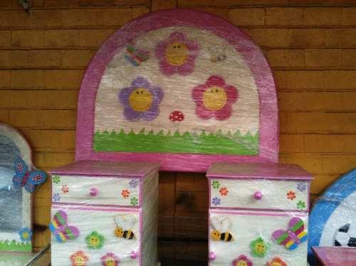 Recamara infantil ni o ni a princesa flores lagunilla for Recamaras infantiles df