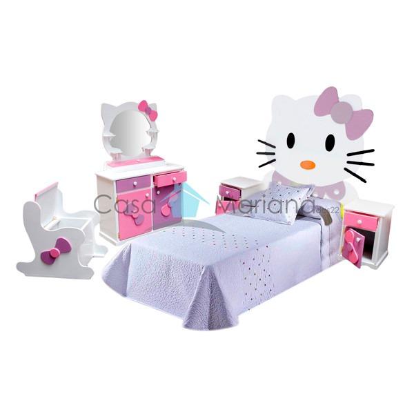 Recamara infantil para ni o o ni a cuna cama litera ni os for Muebles para recamara de nina