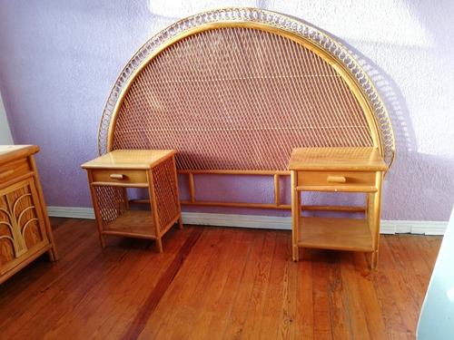 recámara matrimonial de madera