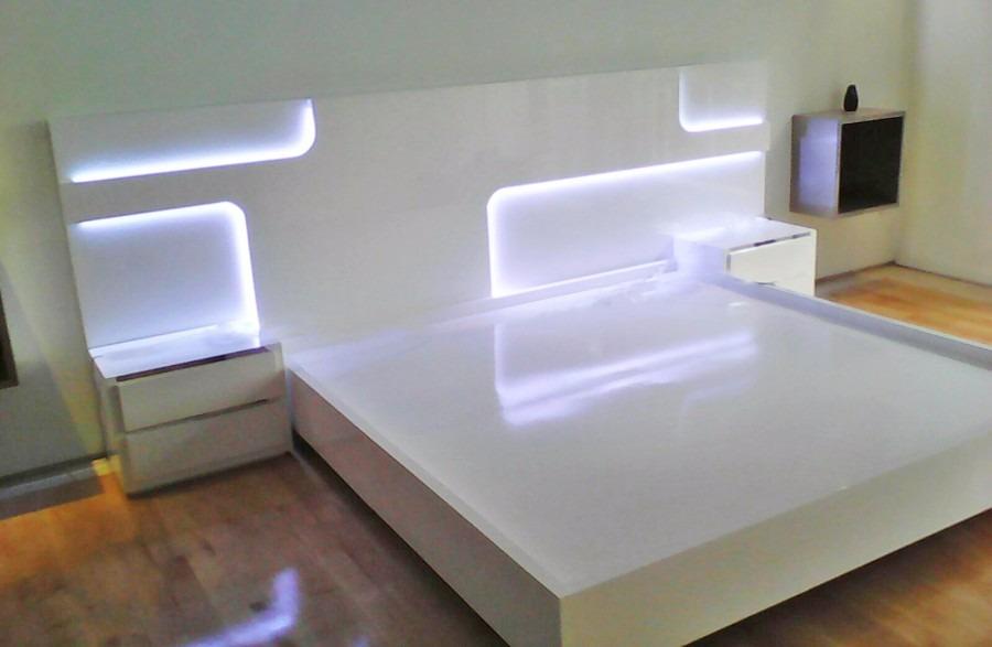 Recamara moderna 26 en mercado libre for Buros de cama modernos