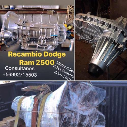 recambio caja automática dodge ram 2500 cummins 2003-2020