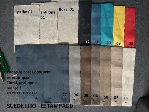 recamier calçadeira peseira cama casal 140x50