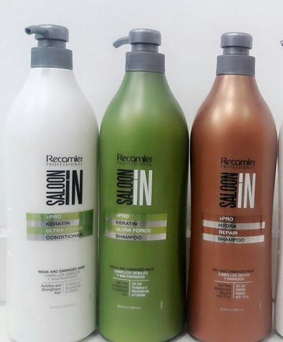 recamier saloon in  shampo sin sal acondicionador 1litro