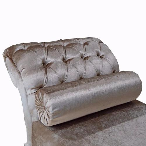 recamier sofá sala decoração