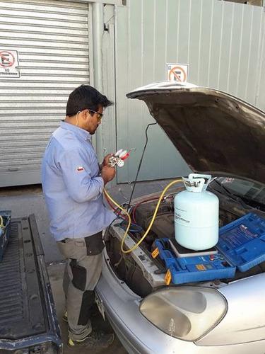 recarga aire acondicionado automotriz a domicilio - v region