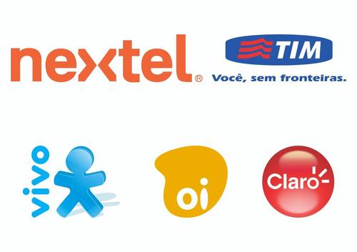 recarga celular crédito online vivo oi claro tim nextel r$50