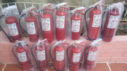 recarga de extintores de fuego, mantenimiento venta empresa