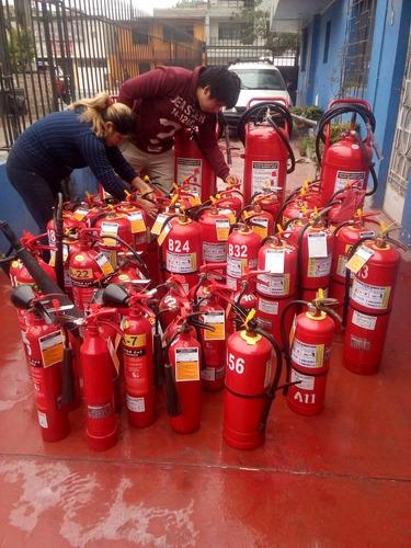 recarga de extintores en lima