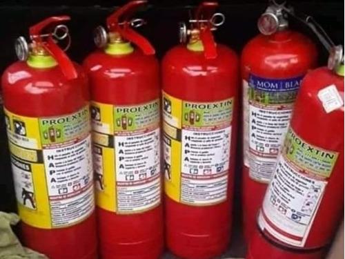 recarga de extintores sin recargo a domicilio  en quito