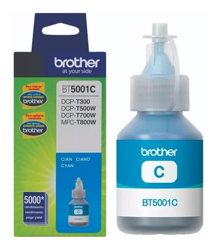 recarga de tintabrother bt-5001c cyan diginet