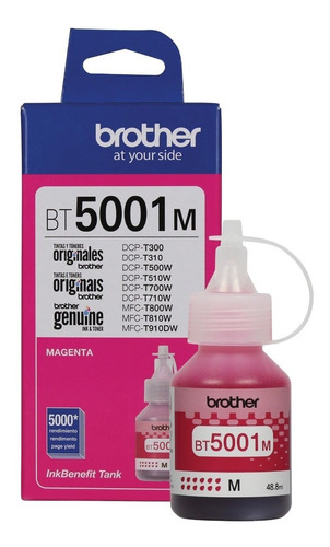 recarga de tinta brother bt-5001m magenta diginet