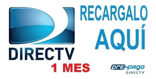 recarga directv prepago y activaciones