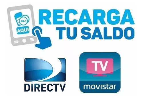 recarga directv, tv movistar e inter venezolano