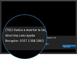 recarga directv venezolano reparacion codigo de errores