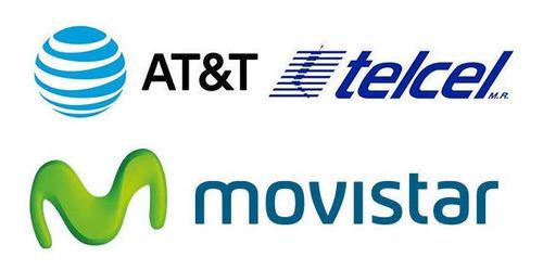 recarga electrónica movistar, telcel, at&t $100