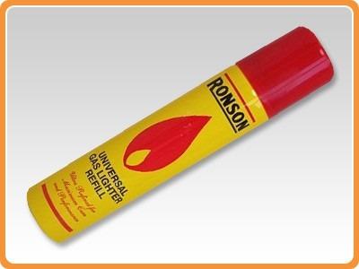 recarga gas butano ronson 300ml encendedores soplete (78002)