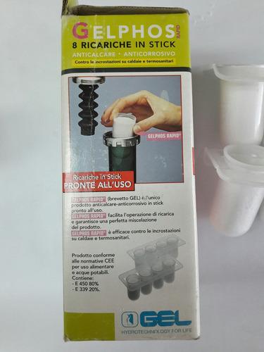 recarga para dosificador o filtro que evita daños de equipos