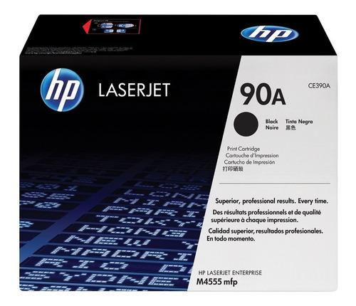 recarga para hp ce390a (90a)de laserjet m601/m602/m603/m4555