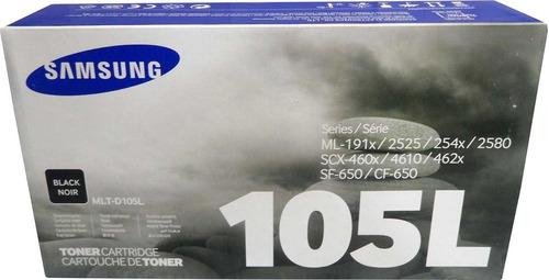 recarga para samsung 1910/1915/2525/2580/scx4600 toner- d105