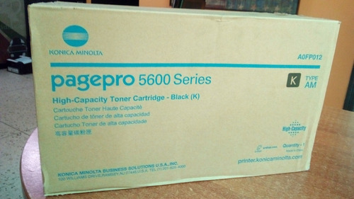 recarga toner konica minolta pagepro series 5600  5650