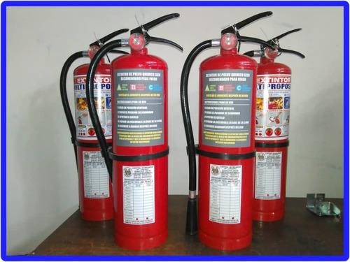recarga venta y mantenimiento de extintores