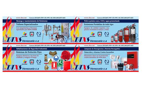 recarga y mantenimiento de extintores contra incendios