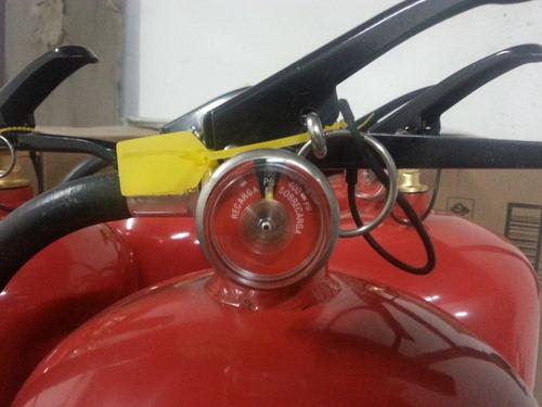 recarga y mantenimiento de extintores de polvo quimico seco