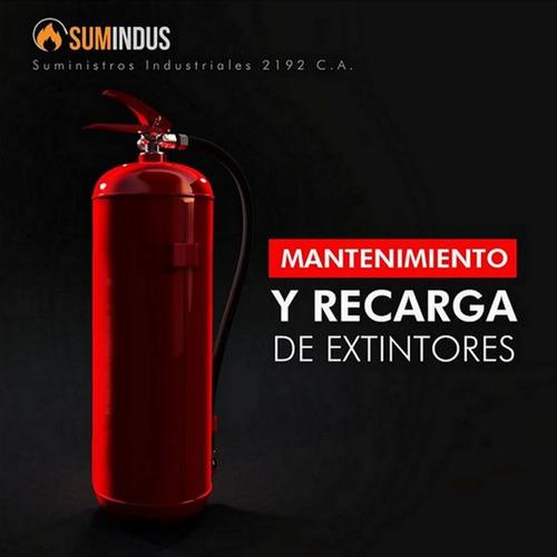 recarga y mantenimiento de extintores pqs y co2.