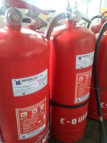 recarga y servicio de extintores