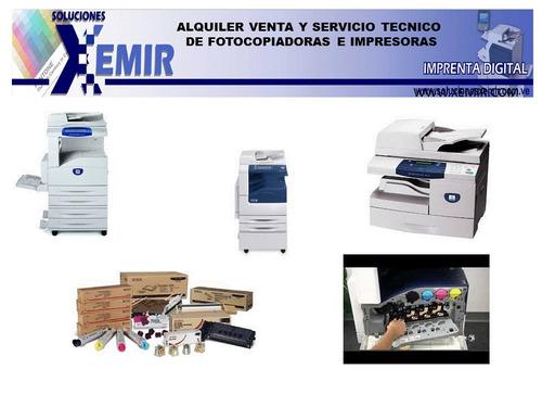 recarga y venta de toner servicio tecnico de fotocopiadora