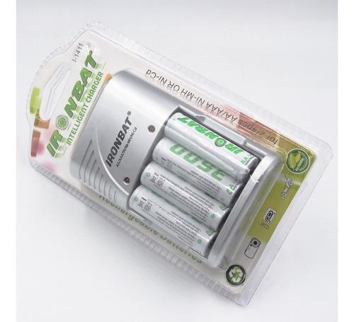 recargable cargador baterias