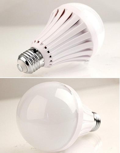recargable de la bombilla de la lámpara de emergencia - led