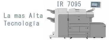 recargamos el cartucho de toner fotocopiadora canon ir 7095