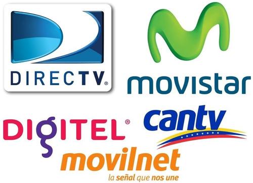recargas celular fijo internet satelital tv movistar directv