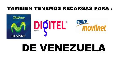 recargas de decodificadores directv venezolano