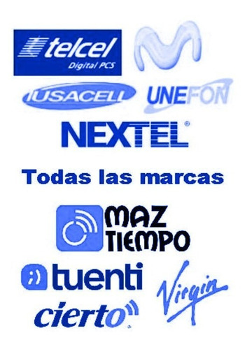 recargas electronicas todas las marcas todo mexico