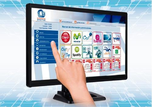 recargas electrónicas y recaudación de servicios básicos